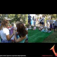аздача соков на детских мероприятиях