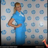 Хостес на презентацию Hewlett Packard