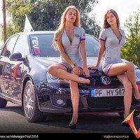 хостес на Volswagen Fest 2014